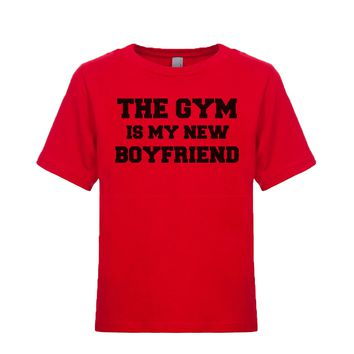 The Gym Is My New Boyfriend Unisex Kid's Tee