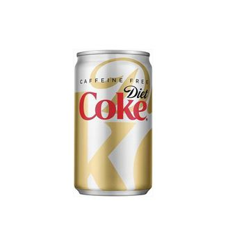 Diet Coke Caffeine Free 7.5 oz Cans - Case of 24