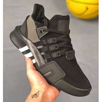 Adidas EQT Basketball ADV Series Street Basketball Knitting Jogging Running Shoes Men's Shoes Women's Shoes 36-45 Size
