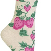 Strawberry Women's Crew Socks