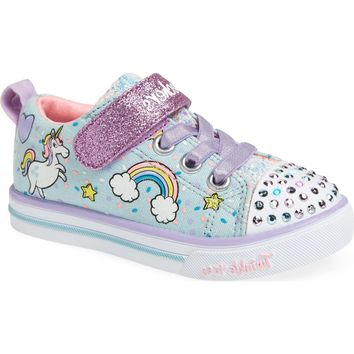 SKECHERS Twinkle Toes Unicorn Light-Up Sneaker (Walker, Toddler & Little Kid) | Nordstrom