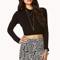 Geo Bodycon Skirt