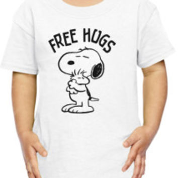 Free Hugs Toddler T-shirt | Customon.com