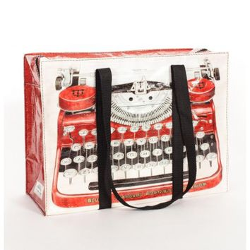 Typewriter Shoulder Tote