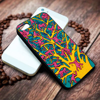 Keith Haring, the tree of monkeys Iphone 4 4s 5 5s 5c 6 6plus 7 case / cases
