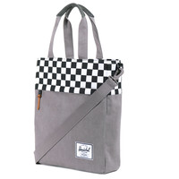 Herschel Supply Co.: Pier Tote Bag - Washed Black / Checkerboard