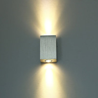 Brushed Aluminum LED Wall Lamp