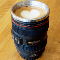 Camera Lens Coffee Mug Summer Gift