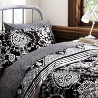Natalia Bedding Bundle, Black