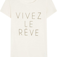 J.Crew - Vivez Le Rêve cotton and modal-blend T-shirt