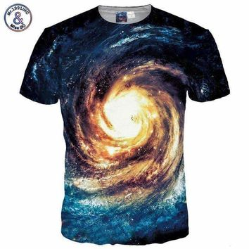 Space Galaxy T-shirt Men/Women 3d  Design T shirt