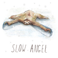 Slow Angel - Sloth Christmas Card