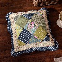 Tache 2 Piece 100% Cotton Floral Spring Showers Cushion Cover (CCSS-DXJ100077)