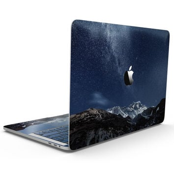 Starry Mountaintop - MacBook Pro with Touch Bar Skin Kit