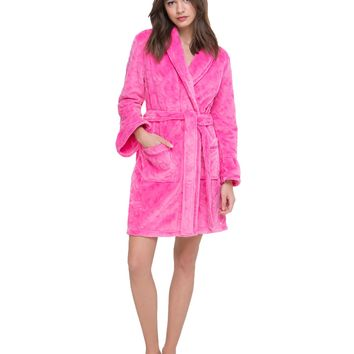 Plush Juicy Logo Robe