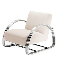 Beige Lounge Chair | Eichholtz Basque
