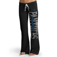 Carolina Panthers '47 Brand Womens Pep Rally Pants – Black