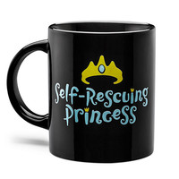 Self-Rescuing Princess Mug
