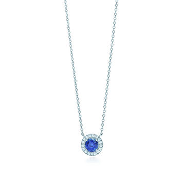 Tiffany & Co. - Tiffany Soleste®:Sapphire and<br>Diamond Pendant