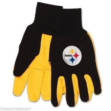 Pittsburgh Steelers Sport Utility Work Gloves