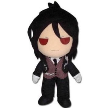 "Great Eastern Black Butler 9"" Sebastian Plush Doll"