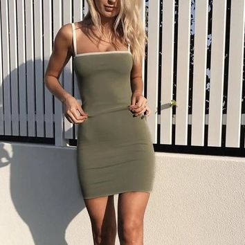 Fiona Basic Fitted Dress