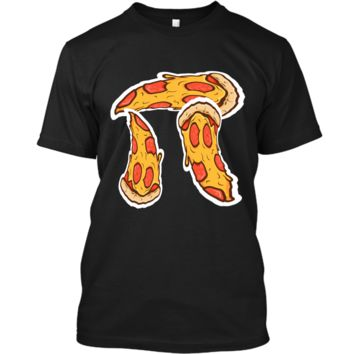 Pi Day Shirt kids Pizza Pi Funny Math Food 3.14 Distressed Custom Ultra Cotton