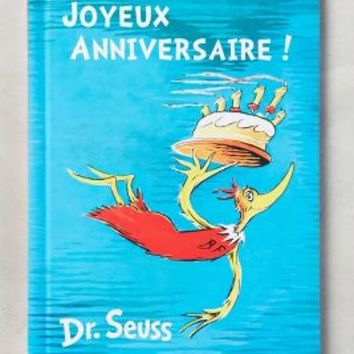 Joyeaux Anniversaire by Anthropologie in Sky Size: One Size Books