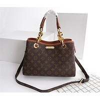 LV Louis Vuitton MONOGRAM CANVAS HANDBAG INCLINED SHOULDER BAG