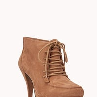 Standout Lace-Up Booties