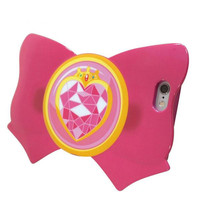 Sailor Moon Ribbon Shaped Case for iPhone 6 Case (Prism Heart Brooch)
