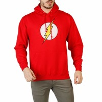Dc Comics Rgmhs177 Men Red Sweatshirts