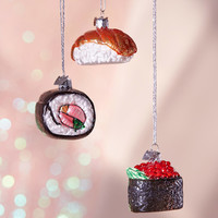 Sushi Ornament - Set Of 3 | Urban Outfitters