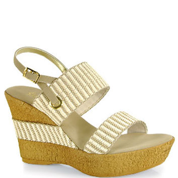 Onex  - Thalia - Fabric Wedge Sandal