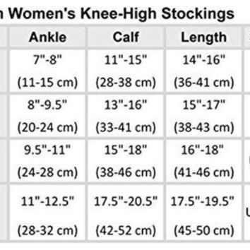 LMFONG6 Footwear By Cherokee Women's Fashion 12 Mmhg Compression Sock