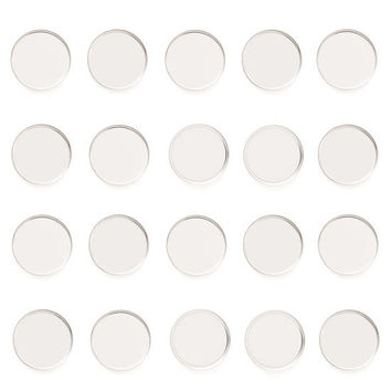 Mini Round Metal Pans 10 Pack