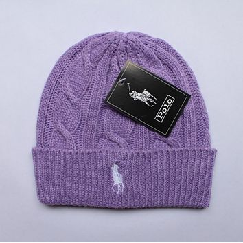 polo:fashion men's and women's knitted cap
