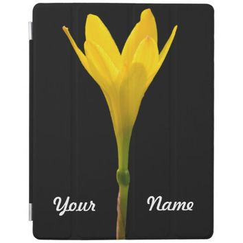 Yellow Flower iPad Cover