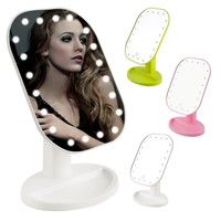 180 Degree Rotation LED Makeup Mirror