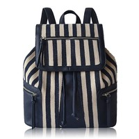 Classic Pope Splice Striped Diamond Backpack