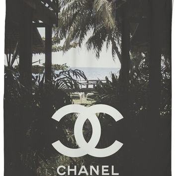 COCO CHANEL shower Curtain !