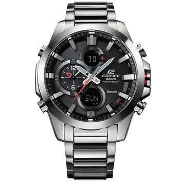 Casio - Men's Edifice Stainless Steel Watch ECB-500D-1AER