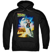 """Back to the Future """"Poster"""" Hoodie - Adult & Youth"""