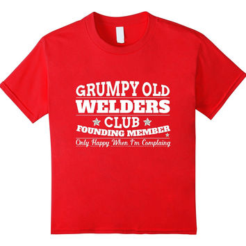 Grumpy Old Welder Funny T-Shirt