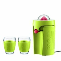 Bodum Bistro Electric Two Speed Citrus Juicer, Green