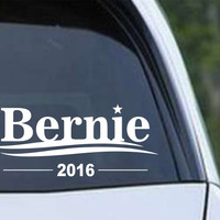 Bernie Sander 2016 President Die Cut Vinyl Decal Sticker
