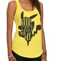 Pokemon Pikachu Gotta Catch 'Em All Girls Tank Top