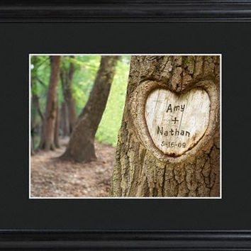 Tree of Love Sign w/Wood Frame