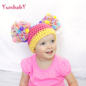 Easter Pom Pom Hat Baby Hats