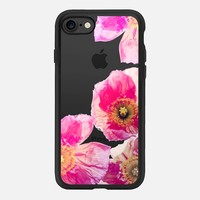 ALWAYS POPPIES PINK by Monika Strigel iPhone 7 Hülle by Monika Strigel | Casetify